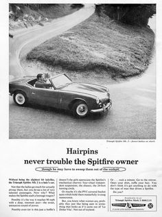 Triumph Spitfire MkII by Jonathan Rowley Photography, via Flickr