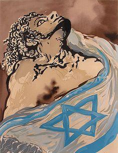 "Salvador #Dali ""Aliyah: Rebirth of #Israel"" (1966) #Judaica"