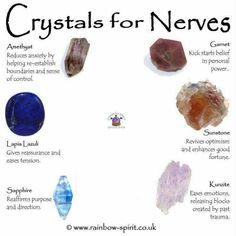 Crysrals for nerves
