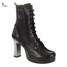 New Rock Neotyre05 S1, Bottes Motardes Femmes, (Black), 37 EU