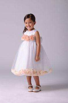 US Angel Flower Girl Petal Dress Style 705- BUILD YOUR OWN DRESS!