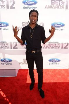 2012 BET Awards: ASAP Rocky, Swizz Beatz, Jermaine Dupri & More On The Red Carpet (PHOTOS) | Global Grind