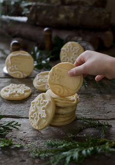 Sabores y Momentos | Galletas de Navidad con sellos {receta fácil} | http://saboresymomentos.es