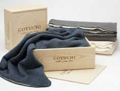 Cozy Cotton Throw with Giftbox by Coyuchi