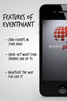 Features of eventphant Startups, Night Life, Like Me