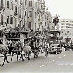 King Farouq's chariot.