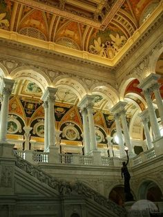 The Interior of The Library of Congress, Washington, DC by TravelPod Member Dane