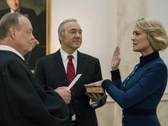 House Of Cards ... will the final season focus on Claire Underwood (played by Robin Wright)?
