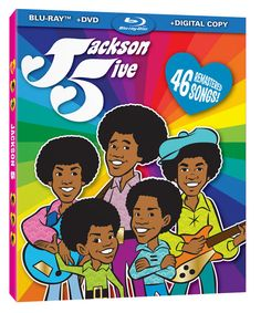 images of the  60s and 70s cartoons series | The Jackson 5 animated TV series is being released on DVD and Blu-Ray ...