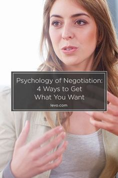 What you should do when #negotiating for everything from a salary bump to a new set of wheels. www.levo.com
