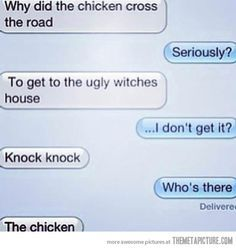 Ahahaha. That's so horrible! But funny, don't get me wrong
