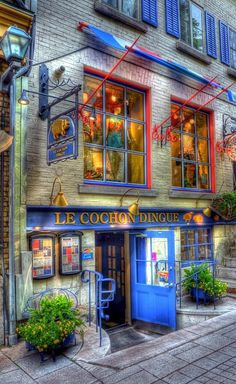 Le Cochon Dingue - Quebec City, Quebec, Canada