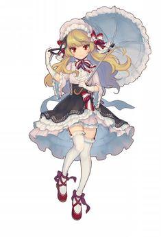 【トイズドライブ】★5「怪盗マリー+」ステータス・評価まとめ - キャラ名鑑|トイズドライブ公式攻略Wiki - GAMY(ゲーミー) Female Character Design, Character Design References, Character Design Inspiration, Character Concept, Character Art, Anime Chibi, Chica Anime Manga, Kawaii Anime, Anime Style