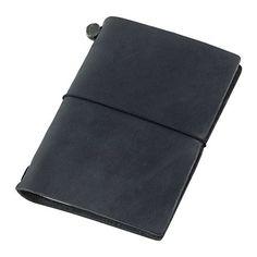 Midori Traveler's Notebook Journal Passport Size - Black