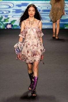 Anna Sui Spring 2014 Ready-to-Wear Collection  - ELLE.com