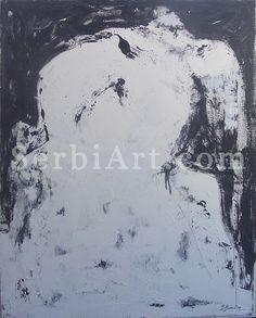 Boban Bosic A hug, 2009  Oil on Canvas