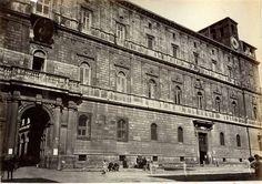 1868/69 Lais Filippo (attr.) Palazzo della Cancelleria.