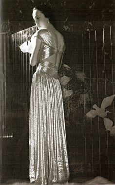 Jeanne Lanvin Evening Gown