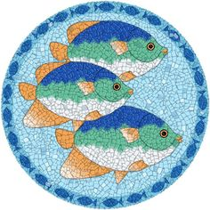 mosaic fish images - Google Search