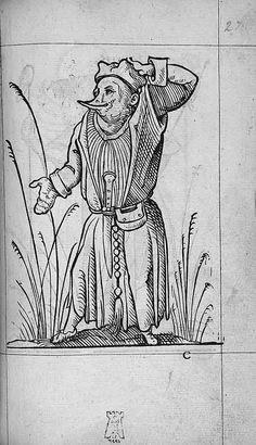François Desprez,  f. C1 Dessin 27  Les Songes drolatiques de Pantagruel  A Paris : Par Richard Breton 1565