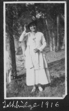 Alice Ross, Lethbridge, 1916