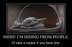 New Funny Memes, Funny Relatable Memes, Stupid Funny, Funny Stuff, Funny Quotes, Yoda Meme, Yoda Funny, Menopause Humor, Yoda Images