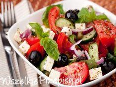 Prawdziwa sałatka grecka Cobb Salad, Grilling, Food, Crickets, Essen, Yemek, Grill Party, Meals