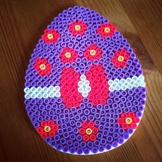 Easter egg hama perler by smuttii