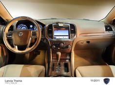 Lancia Thema, wnętrze - deska rozdzielcza.