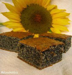 Mézeskalács konyha: Mákos süti