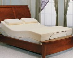 find this pin and more on adjustable beds - Bed Frame For Tempurpedic