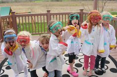 @OurSchoolhouse, mad science birthday party