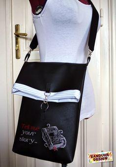 Sanduhr Design: Umschlagtasche - Tutorial