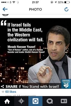 If Israel falls the West will be next. Hamas wants Israel gone off the map