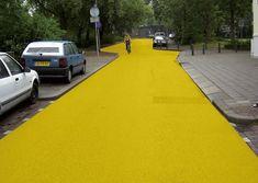 Florentijn Hofman, Yellow Street, Schiedam, 2003