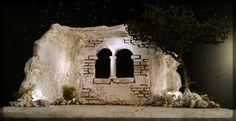Orientalische Krippe Ruine Nativity