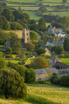 Corton, Denham,English country village