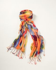 Watercolor Medley Scarf