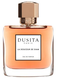 La Douceur de Siam Parfums Dusita for women and men (2017)...  A tribute to the sublime fragrances and gentle traditions of perfumer, Pissara Umavijani's Siamese heritage; a sensual joy in traditional oriental elegance. Notes: chanpaka, rose, frangipani, sandalwood, clove, ylang ylang, vanilla, amber, violet leaf. Perfume rating: 4.36 out of 5 with 34 votes. WANT!!!
