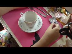 Floating Tea cup Tutorial Part 1 - YouTube