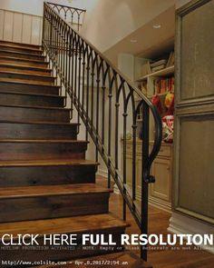 14 Terrific Iron Stair Railing Designs Pic Ideas