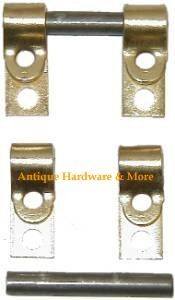 Set of rear mounted swinging mirror hardware or hinges. This hardware allows your mirror to be suspended from two side support and be moved into the position of your choice. Mirror Replacement, Antique Hardware, Hard To Find, Clamp, Plating, Antiques, Diy, Things To Sell, Ideas
