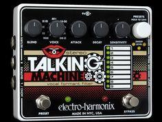 Electro-Harmonix Stereo Talking Machine demo by Bill Ruppert