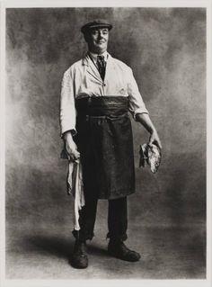 Irving Penn - Fishmonger, London, 1950