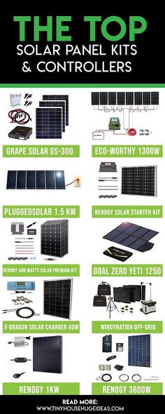 Find the perfect solar panel kit for your renewable energy project with our revi. Small Solar Panels, Solar Energy Panels, Solar Panels For Home, Best Solar Panels, Cheap Solar Panels, Renewable Energy Projects, Solar Projects, What Is Renewable Energy, Installation Solaire