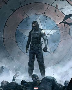"""2,021 curtidas, 1 comentários - DC MARVEL POST ™ (@dc.marvel_post) no Instagram: """"The Winter Soldier By: ChaoyuanXu on @deviantart Last post for today, GN ✌️ — #Marvel…"""""""