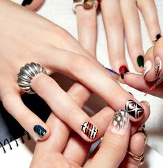 Proenza Schouler-inspired nails