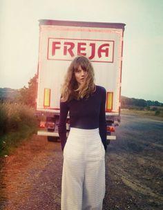 Freja Beha by Cass Bird for Vogue UK - January 2014