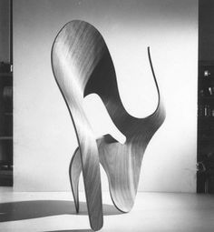 Charles & Ray Eames Plywood Sculpture