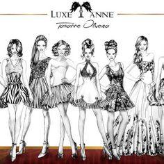Apresentando meu desenho - Desenho de moda (fashion designer) Blog Luxe T' anne